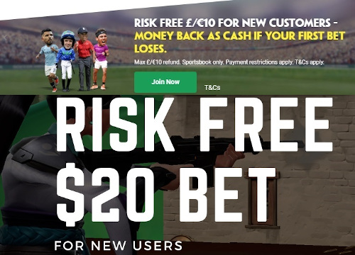 risk free gambling claims
